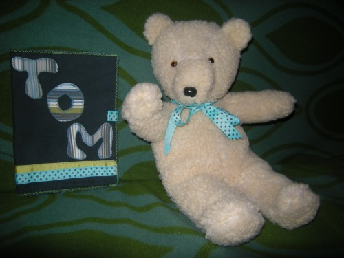 ours, peluche, couture, doudou